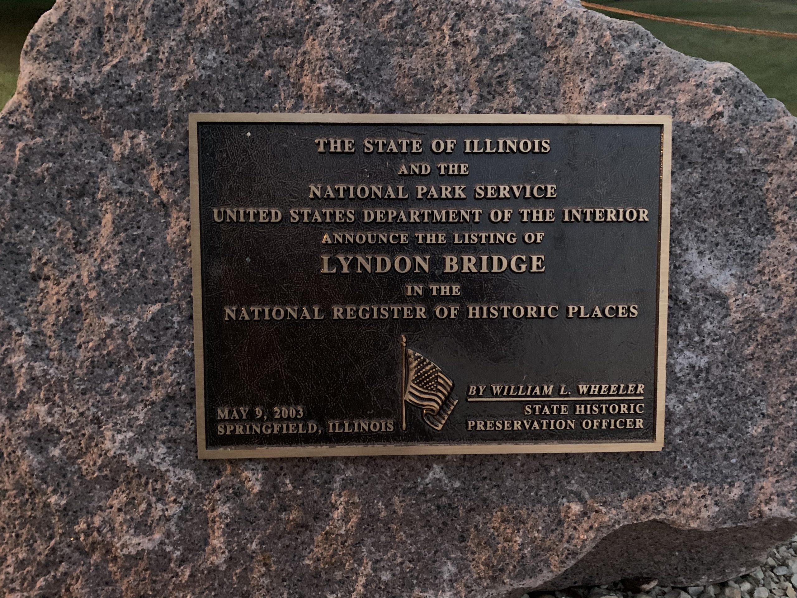 Lyndon Bridge, Historical Places
