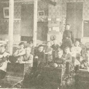 Lyndon IL, early schooling in Whiteside County