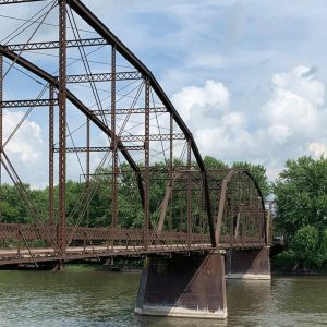 The Lyndon Bridge, Lyndon, IL