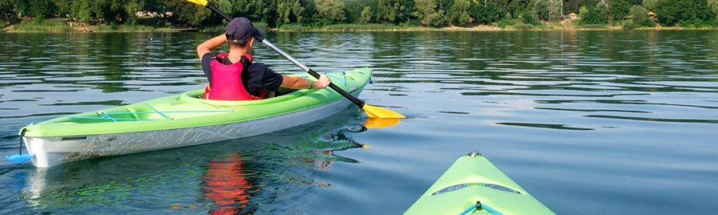 kayaking the rock river
