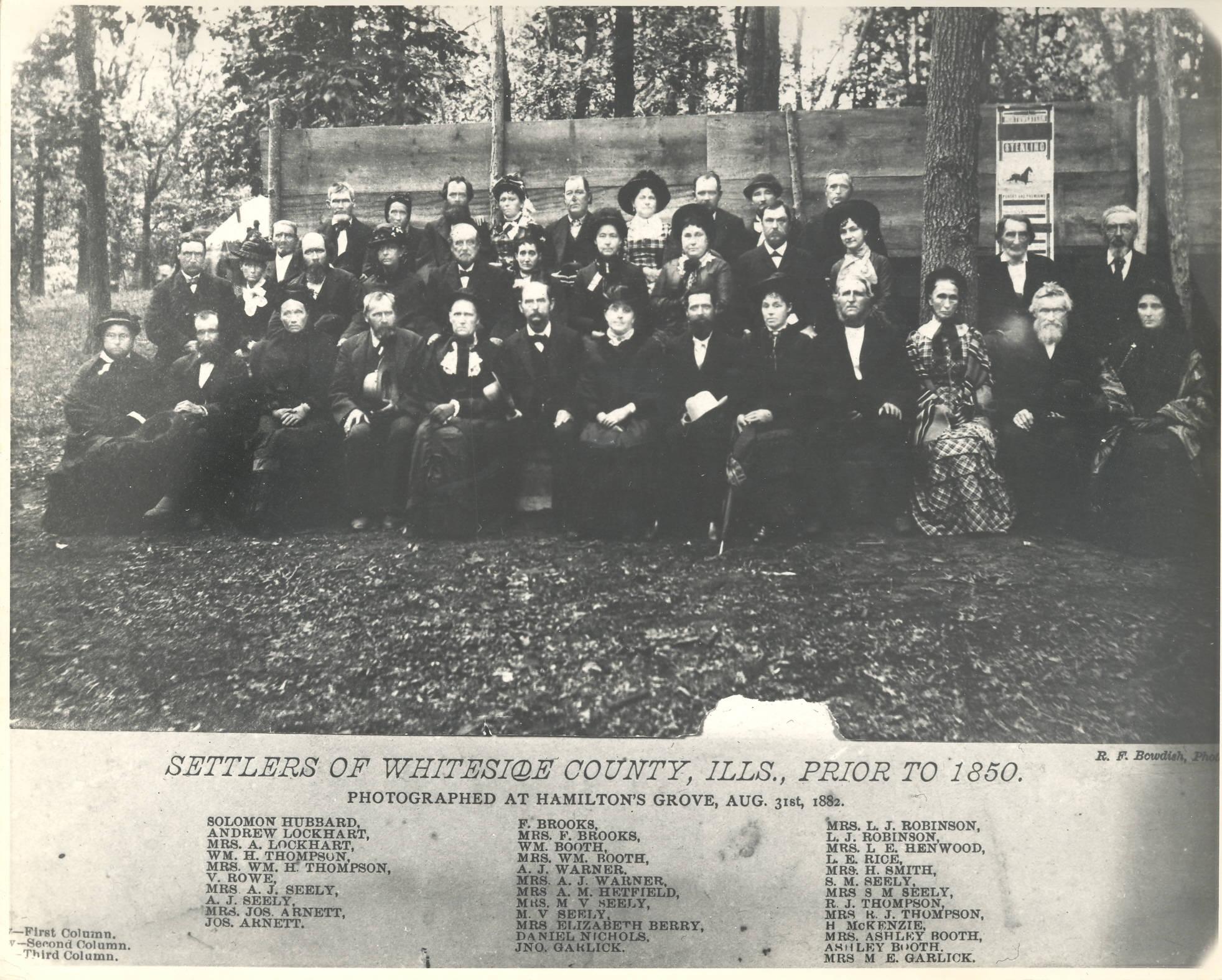 Old Settlers of Whiteside County