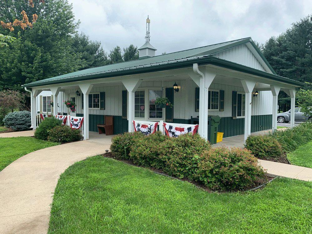 Village Hall, Lyndon IL